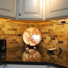 Transitional Kitchen by Gehman Custom Builder