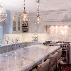 Transitional Kitchen by Mitchell Wilk Architecture