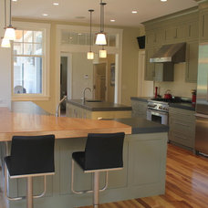Traditional Kitchen by A. Wilson Designs, Inc.