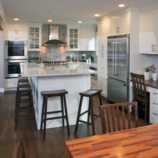 Transitional Kitchen by East Hill Cabinetry