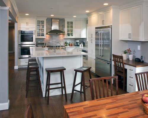 Raised ranch houzz for Kitchen ideas ranch style house