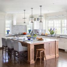 White/Wood Kitchen