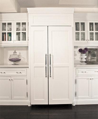 Kitchen Cabinets Refrigerator: Refrigerator Panels