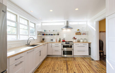 What Lies Beneath That Old Linoleum Kitchen Floor?