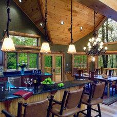 Eclectic Kitchen by L.A. Design, LLC
