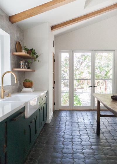 Mediterranean Kitchen by Taylor + Taylor