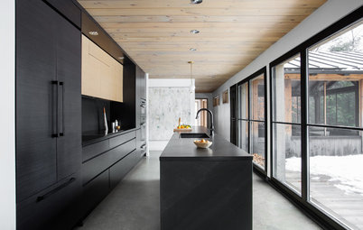 Kitchen of the Week: Black Was the Only Way to Go