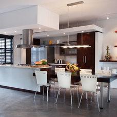Contemporary Kitchen by Kym Maloney Design