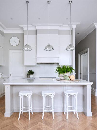 Traditional Kitchen by Melissa Balzan Design