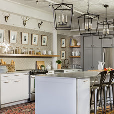 Transitional Kitchen by Stephanie Sabbe