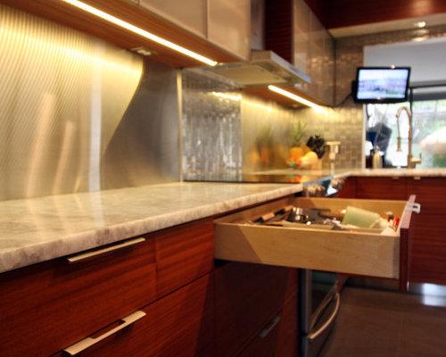 kitchen design ideas renovations photos with metal
