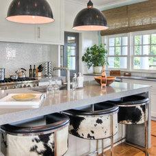 Beach Style Kitchen by Mitchell Wilk Architecture