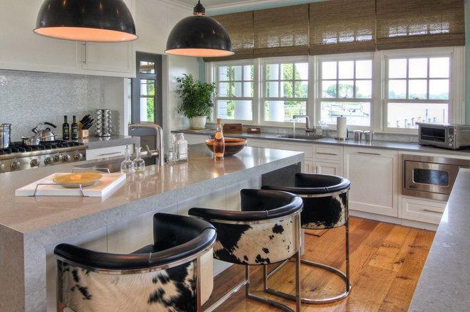 Beach Style Kitchen by Willey Design LLC