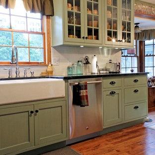 Sage Green Cabinets | Houzz