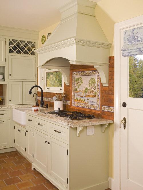 terra cotta tile backsplash home design ideas pictures