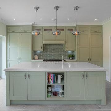 Sage Green Shaker Kitchen