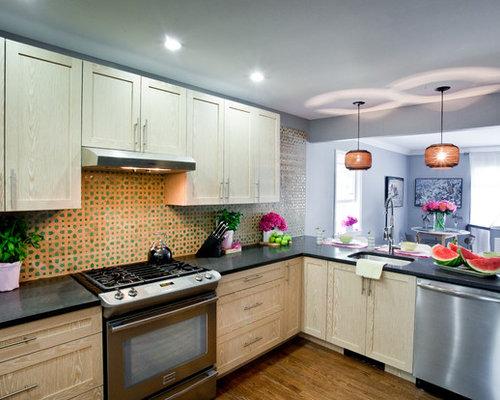 Zellige moderne cuisine solutions pour la d coration for Cuisine zellige