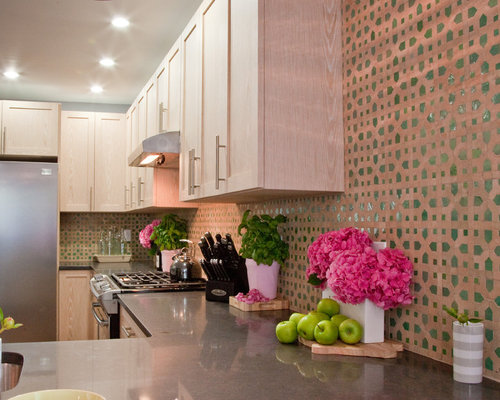 moroccan tile backsplash home design ideas pictures rustic kitchens design ideas tips amp inspiration
