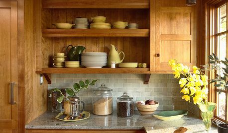 3  Pros' Own Kitchens, Inspired by Arts and Crafts Style