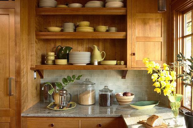 クラフツマン キッチン by David Heide Design Studio