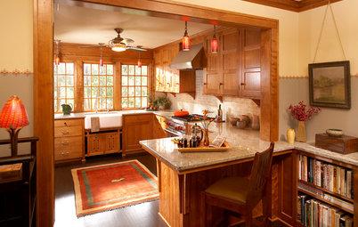 Kitchen of the Week: Kitchen Returns to the Craftsman Era