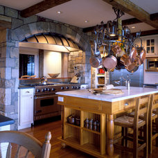Eclectic Kitchen by Mojo Stumer Associates, pc.