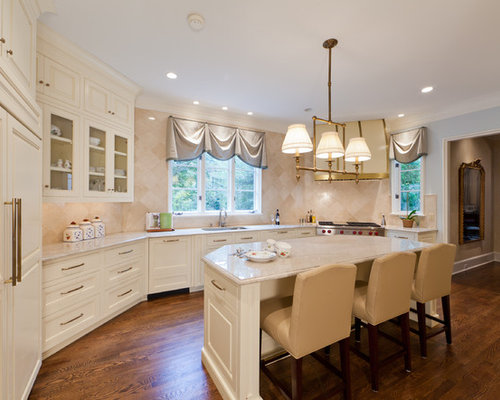 Houzz Ivory Kitchen Design Ideas Remodel Pictures