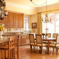 Traditional Kitchen by Sally Wislar Interior Design