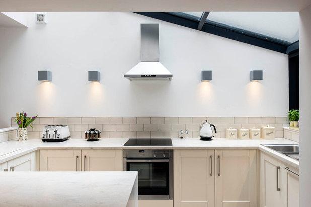 should you do without upper kitchen cabinets and open shelves. Black Bedroom Furniture Sets. Home Design Ideas