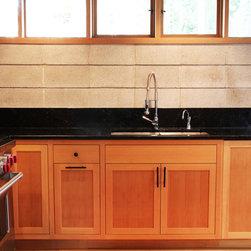 Salvages CVG Fir Kithchen - Flush inset custom Fir cabinetry.