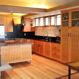 Salvages CVG Fir Kithchen - Salvaged CVG Fir kitchen custom cabinetry