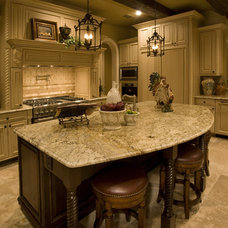 Traditional Kitchen by Sam Allen Custom Home Design