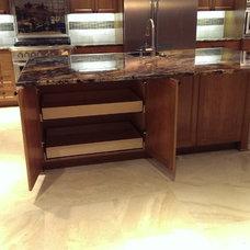 Craftsman Kitchen by Tony's Custom Cabinets