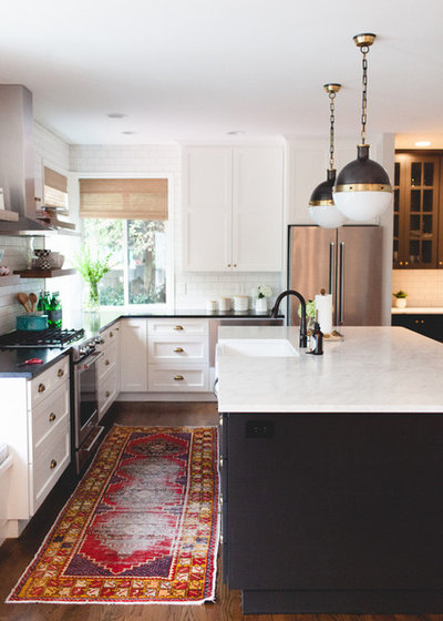Transitional Kitchen by Cooper Studio