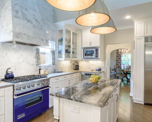 Fotos de cocinas dise os de cocinas cl sicas con - Electrodomesticos de colores ...