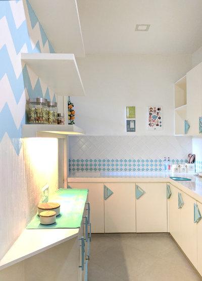 Contemporary Kitchen by Bindya Vasavada l Architecture & Interior Design