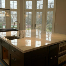 Craftsman Kitchen by Precision Stone Marble & Granite