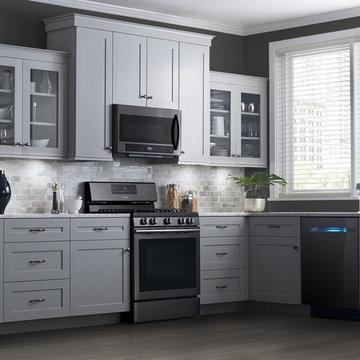 Samsung Black Stainless Steel Appliances