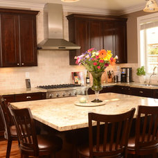 Traditional Kitchen by Oak View Designs LLC