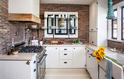 Kitchen of the Week: Contemporary Meets Rustic in Southern California