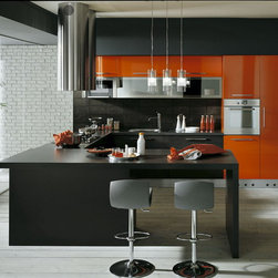 ASTRA cucina - SAN DIEGO CONTEMPORARY KITCHEN DESIGN AND CABINETS - BATH AND KITCHEN TOWN
