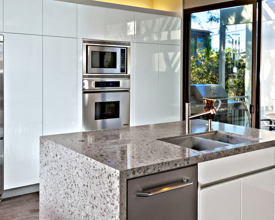 terrazzo countertop | houzz - Terrazzo Kitchen Sinks