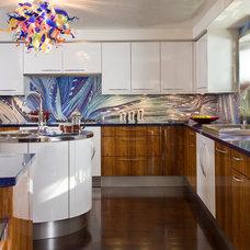 Contemporary Kitchen by Luxury Ranch Interior Design