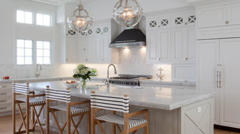 San Diego Contemporary White Cabinets