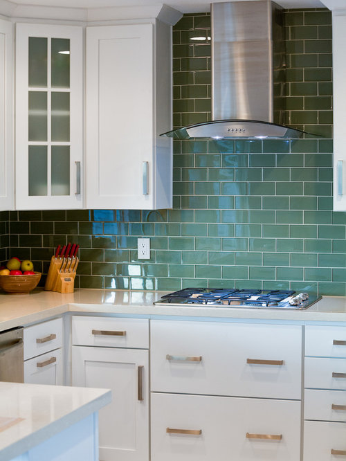 Glass Range Hood Ideas, Pictures, Remodel and Decor