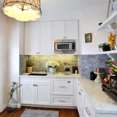 traditional kitchen by Faiella Design