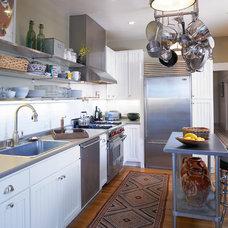 Traditional Kitchen by Carolyn Rebuffel Designs