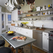 Eclectic Kitchen by Carolyn Rebuffel Designs