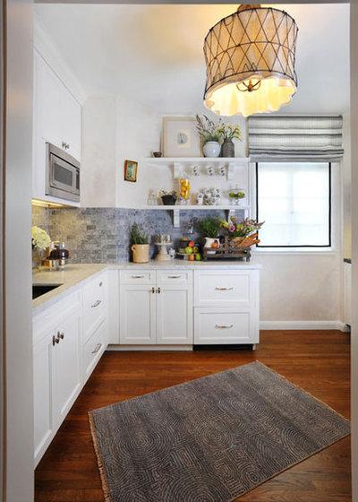 Traditional Kitchen by Anastasia Faiella Interior Design