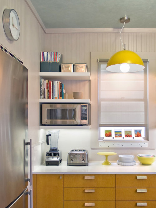 Microwave Shelf Ideas, Pictures, Remodel and Decor
